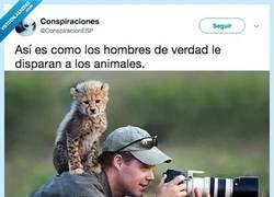 Enlace a La única manera de disparar a los animales que deberíamos permitir, por @ConspiracionESP