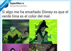 Enlace a El color del mal por @supermanumolina