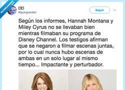Enlace a El motivo por el que Miley y Hannah no se vieron juntas, por @guinguardian