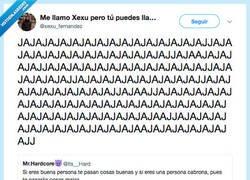 Enlace a Vaya chiste más guapo, por @xexu_fernandez