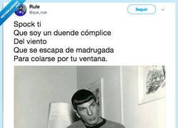 Enlace a Spock versionando a Complices, por @que_rule