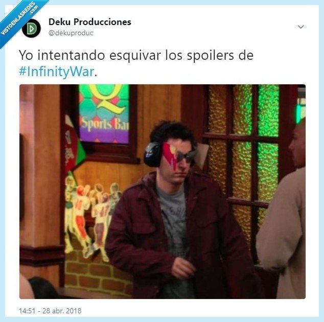 evitar,infinity,infinity war,mosby,spoiler,spoilers,ted,ted mosby,vengadores,war