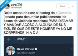 Enlace a Una de las pruebas de que Dalas es pura basura de persona, por @achlysxcaro