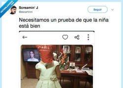 Enlace a Estamos preocupados por el estado de salud de la niña, por @escartinni