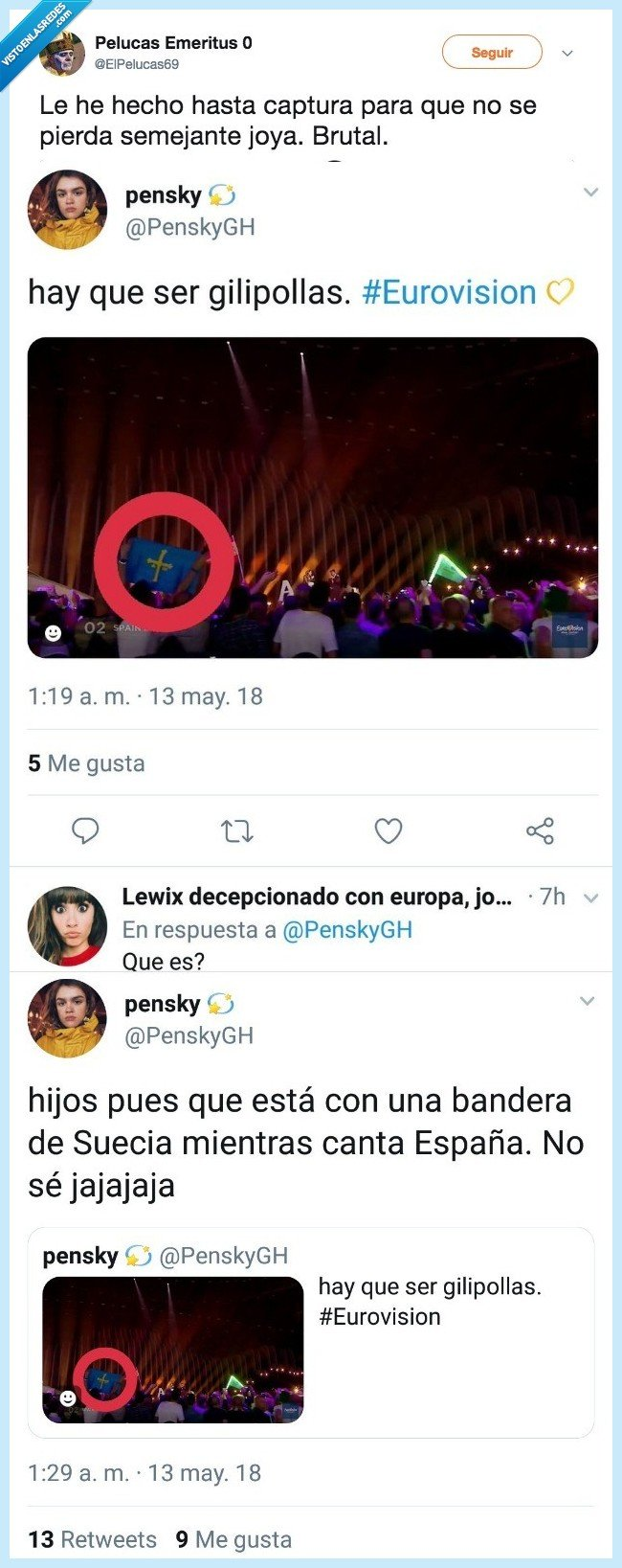 español orejas,orgullo