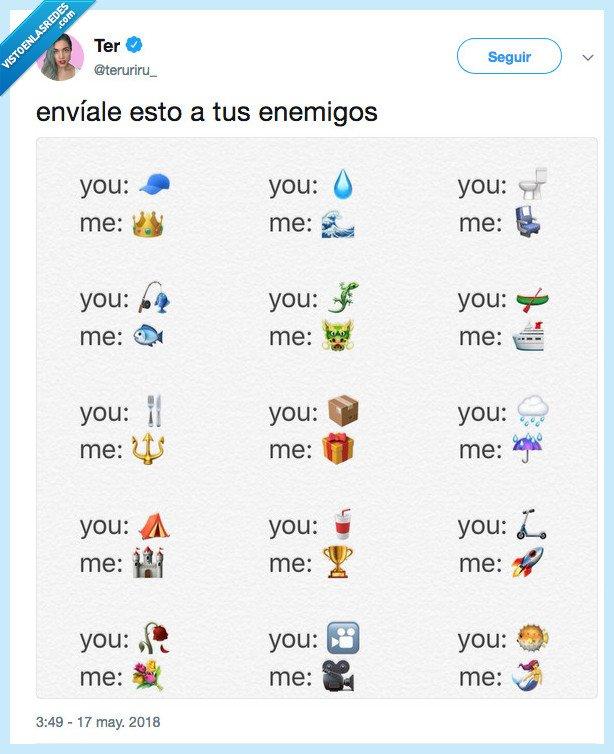 emoji,enemigo,enterar,más que ellos