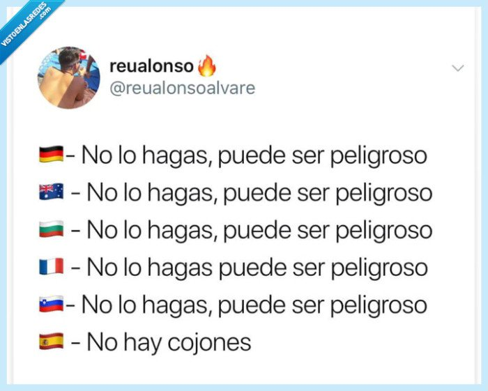 España,huevos,idiomas,peligro