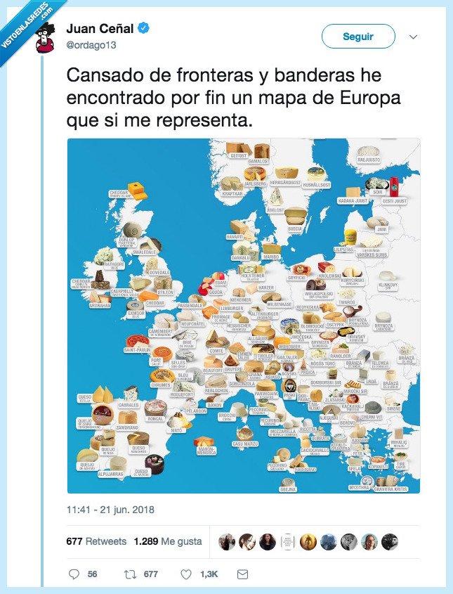 importante,mapas,queso