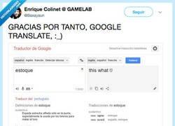 Enlace a Google Translate nos alegra la vida, por @Baxayaun