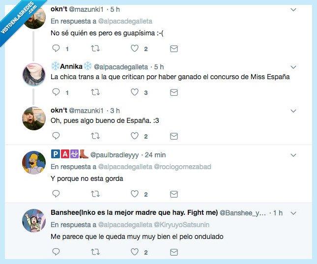 490881 - Así es la nueva Miss España: se llama Ángela y es una MUJER trans y no pasa absolutamente nada, por @ alpacadegalleta