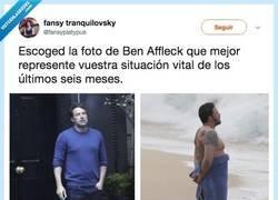 Enlace a ¿Y tú que Ben Affleck eres?, por @fansyplatypus
