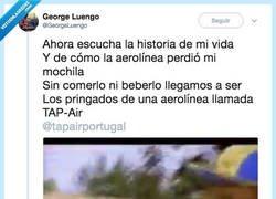 Enlace a Original denuncia tras cansarse de que la aerolínea TapAir le dé largas, por @GeorgeLuengo