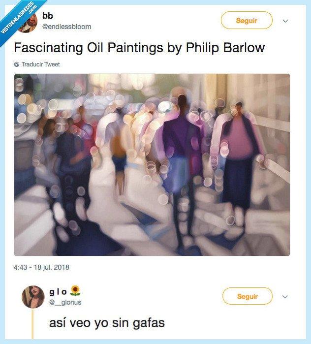 miopía,pintar