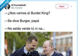 Enlace a Allí él es el king, por @El_Formalito