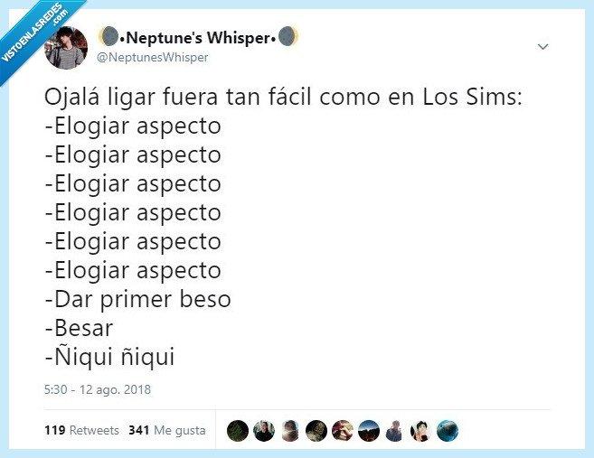 ligar,Los Sims