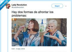 Enlace a Afrontar problemas, por @iLadyRevolution
