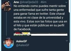 Enlace a Twitter destapa la verdad de @AalexGF: ¿no estaba muerto... estaba de parranda?