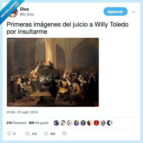 dios,imágenes,willy toledo
