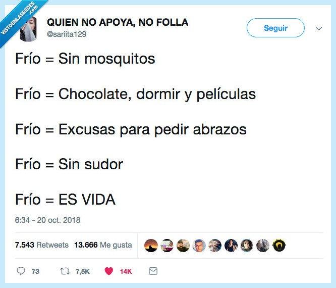 frío,no mosquitos,no nada,viva