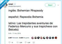 Enlace a La versión latina mola más, por @vespinepumpkin5