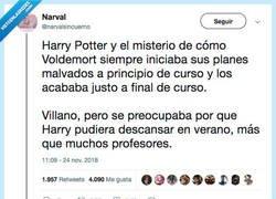 Enlace a Voldemort es considerado, por @narvalsincuerno