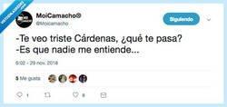 Enlace a ¿Os imagináis a Cárdenas siendo de Murcia?, por @Moicamacho
