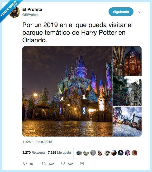 2019,howgwarts,parque,que me toque la loteria