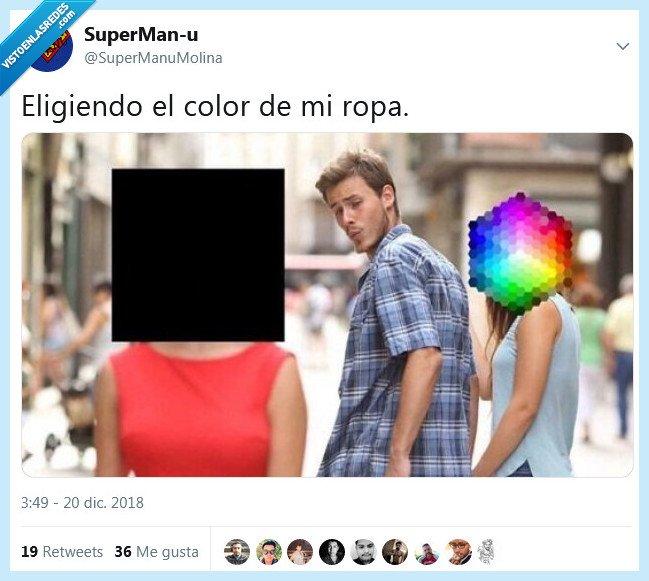 color,elegir,ropa