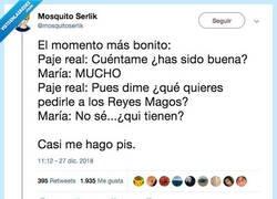 Enlace a De mayor quiero ser como María, por @mosquitoserlik