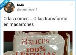 Enlace a El nuevo método de las madres para que comamos lentejas, por @eneemece11