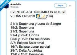 Enlace a Si te gusta mirar al cielo y mirar las estrellas este es tu calendario para que estés al día de astronomía, por @petarostojic