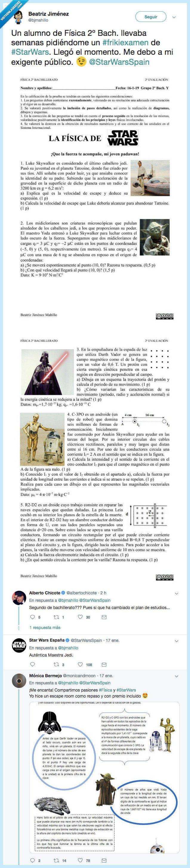 examen,física,star wars