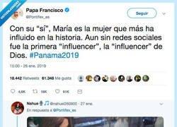 Enlace a Al CM del Papa se le ha ido mucho la castaña con su publicación de
