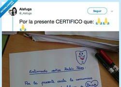 Enlace a Comparte la carta que le ha dejado al Ratón Perez porque a un alumno se le ha caído un diente, por @_Alafuga