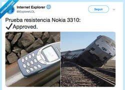 Enlace a No hay nada más resistente que un 3310, por @iExplorerLOL
