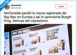 Enlace a Burger King aprovechando oportunidades, por @demmertzis