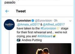 Enlace a Never Forget el momentazo que nos dejó Eurovisión 18, por @ChouBisnes