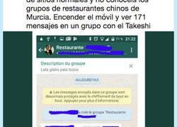 Enlace a Un restaurante chino en Murcia hace un grupo con sus clientes y confirmamos que es muy mala idea, por @Pombeitor
