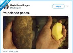 Enlace a Le quito más patata que piel, por @MaxBorgesC
