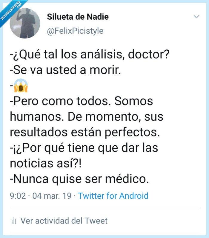 humor,Médico,morir,receta