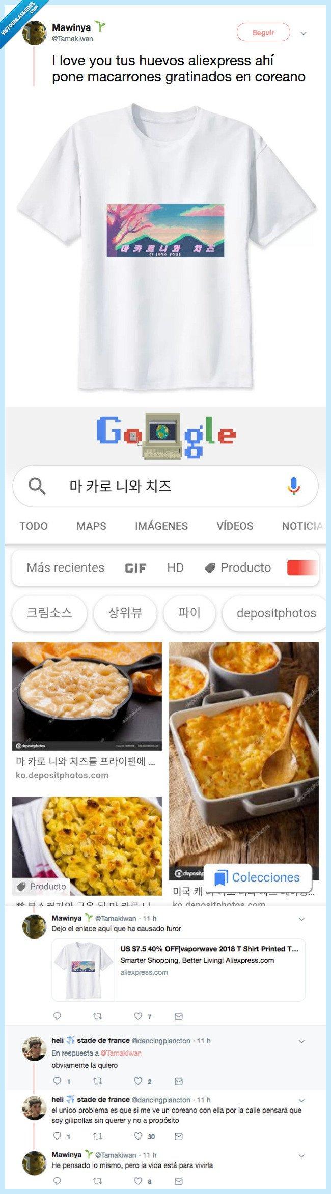 coreano,gratinados,macarrones