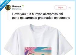 Enlace a La camiseta de Aliexpress con un