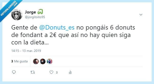 dieta,donut,gatitos,twitter