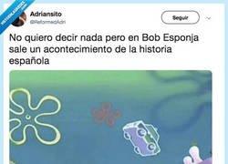 Enlace a Bob Esponja a la Audiencia Nacional, por @ReformedAdri