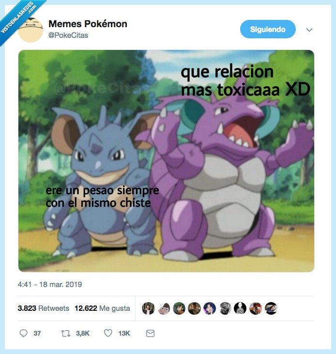 humor pokemon,los dos pokemon son toxicos jo jo jo