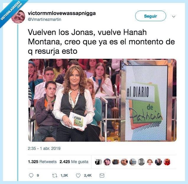 brothers,diario patricia,jonas,volver