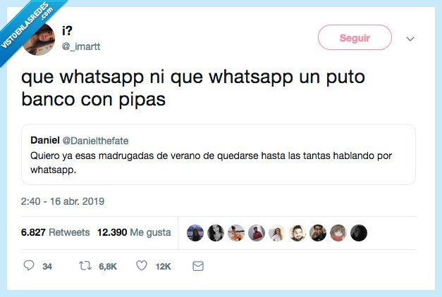 banco pipas,recuerdos,whatsapp