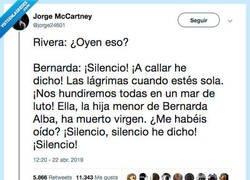 Enlace a Bernarda Alba cerró el debate, por @jorge24601