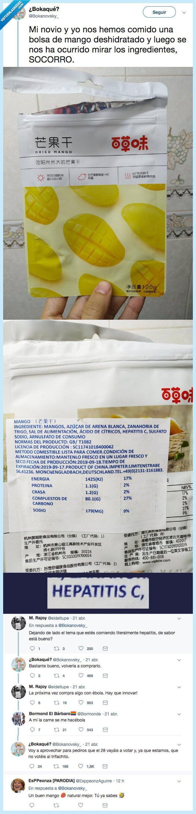 ingredientes,novio mango