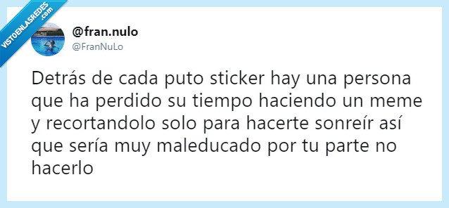 sonrisa,sticker,twitter